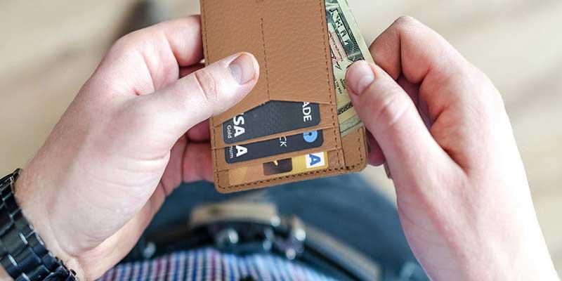best minimalist leather wallet